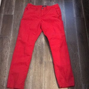 American Eagle | size 31/32 red pants